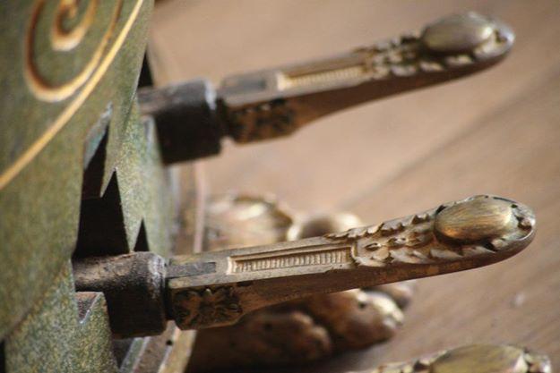 Pédales de Harpe Erard style Louis XVI